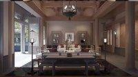 顺义中式古典别墅/中式家具,首选唐人室内设计高贵风范!