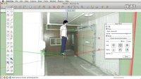 SketchUp室内场景照片匹配建模方法