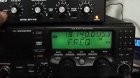 MFJ-1025 Killing the CRT TV Noise in 18 Mhz 17 meter HAM ban