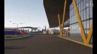 长途汽车站交通枢纽建筑设计方案Revit Lumion动画汇报演示