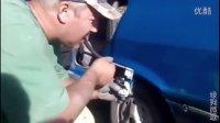 原来汽车喷漆是可以用嘴吹出来的【绿狗微逗】
