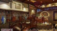 茶楼古典中式装修设计案例欣赏—紫云轩中式设计机构