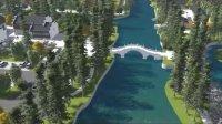 湖州织里利济文化公园景观设计(Lumion后期表现)