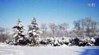 辽阳雪景图片(宽屏)