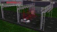 MAYA三维动画 动画宣传片车道自由流