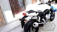 08FZ1N白色雅马哈摩托车