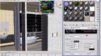 Vray_黑石_卧室卫生间实例_复合玻璃及台灯罩材质(流畅)