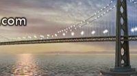 晚霞大桥视频素材下载_led素材_vj素材_VJ师网