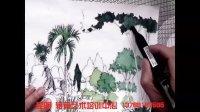 陈双龙老师 景观手绘上色示范(昆明转角艺术培训中心)