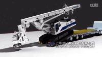 时亿数码 中联ZR200A旋挖机 机械三维动画制作