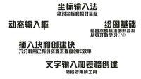 AutoCAD新手到精通视频讲座连续更新中02-内容介绍
