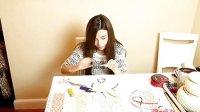 [张沫凡DIY课]DIY可爱的蝴蝶结!蝴蝶结发卡做法 高清