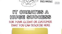 NO.303 手写白板画风格企业宣传模板 AE模板