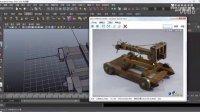 MAYA视屏教程-MAYA动漫游戏【3D建模弩车2】【加群:125101840】