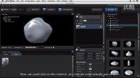 Lynda - Element 3D Essential Training 3.3.添加材质