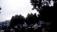常州南夏墅狗日城管伙同民警暴力殴打在南苑小区门口卖水果小贩