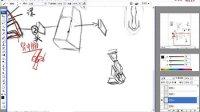 【五官的结构】名动漫手绘板绘原画插画就业培训