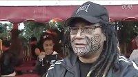 新西兰全黑橄榄球队拜访毛利酋长 大跳HAKA