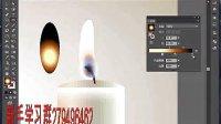 AI教学视频_插画篇_蜡烛的柔光之美 新手群:279496462