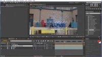 AE制作能量传送门视频教程