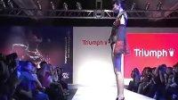 黛安芬情趣内衣模特秀:偷看内裤现在都不用了!