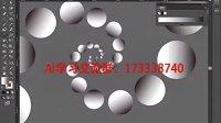 AI视频教程_AI教程_AI实例教程_海报设计篇_幻彩小圆