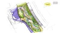 景观课程作业の临港新城滨水带景观设计