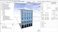 【Tutorial-7 视频教程】讲解CityEngine建筑立面建模