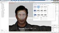 3DMAX转iclone角色带面部动画