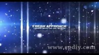 唯美商业活动图片视频字幕展示AE模板(含音频)