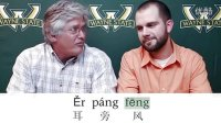 Learn A Chinese Phrase#23: Wind By The Ear