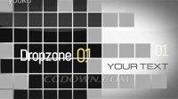 方格阵列排列影像展示视频素材视频模板,AE模板来自西橘网
