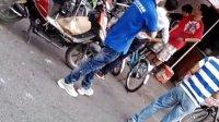 杭州方家埭路上的二手自行车买卖