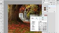 [PS]photoshop cs6视频教程 用径向模糊滤镜做制作光线透射效果