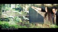 绿色生命中自然光效的图片视频永恒AE展示模板