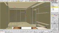 3d室内建模视频教程:从零基础学3Dmax室内场景一体化建模4