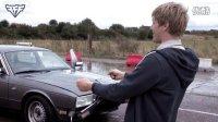 捷豹汽车对撞水弹高清慢镜头