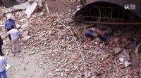早上七点半左右苏州横塘煤气公司宿舍楼爆炸