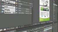 AE教程AE视频教程AE基础教程4项目窗口