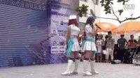 成都Love Live cos soldier game! 2013CJ四川地区预选赛开场舞