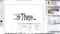 [Ai]密歇根州公开课:平面设计 48 Illustrator-文字变形