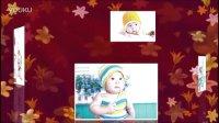35-会声会影X5儿童模板片头-照片排列旋转