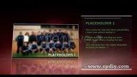 动感NBA运动的自我介绍片头视频图片展示AE模板
