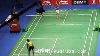 李雪芮羽毛球女单比赛视频 半决赛 2013新加坡公开赛-羽球吧