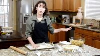Apple Pie Recipe Demonstration 苹果派食谱