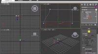 3DsMAX修改_编辑样条线挤出做车窗