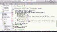 无限互联iOS视频教程3.首页结构设计之动画翻转效果实现