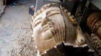佛像雕刻视频 三维立体雕刻机、圆柱雕刻机、深圳世成厂家直销