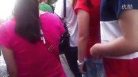7月4日 下班高峰期,朝阳门外,110路公交车事件