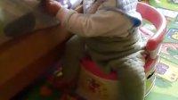 我家宝宝超可爱!八个多月时拍的!